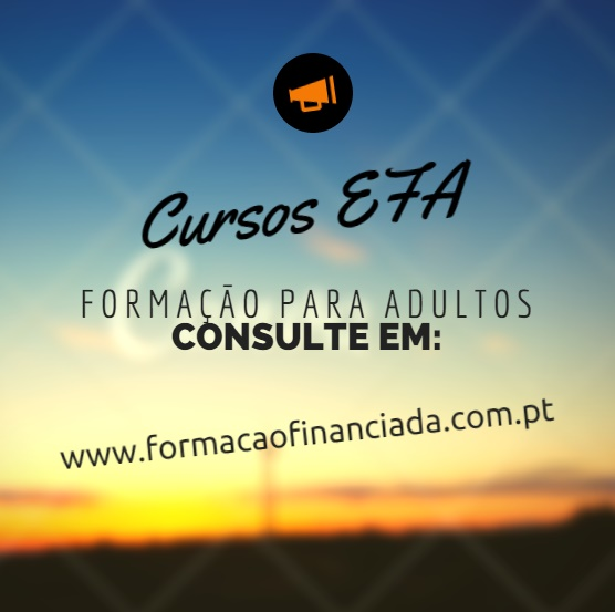cursos efa financiados Braga
