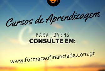 Cursos de aprendizagem financiados em Braga