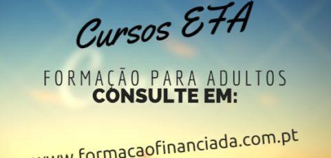 Cursos efa financiados em Braga para 2020